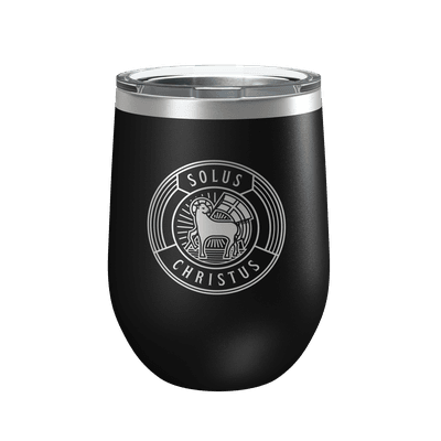 Solus Christus Badge 12oz Insulated Tumbler