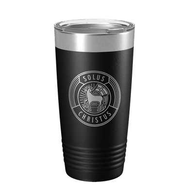 Solus Christus Badge 20oz Insulated Tumbler