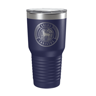 Solus Christus Badge 30oz Insulated Tumbler