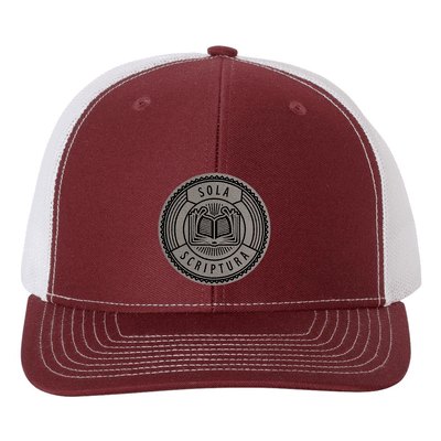 Sola Scriptura Badge Trucker Hat