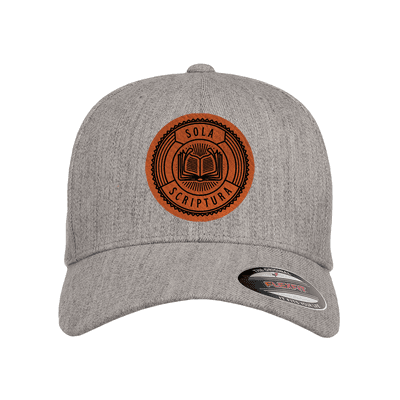 Sola Scriptura Badge Fitted Hat