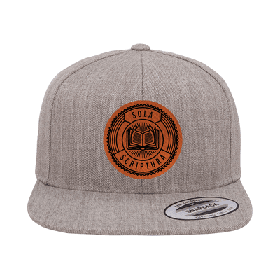 Sola Scriptura Badge Snapback Hat