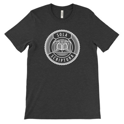 Sola Scriptura Badge Tee