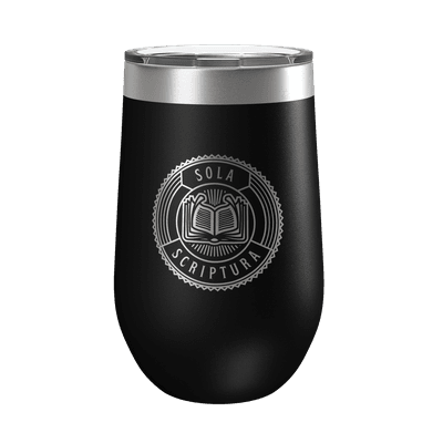 Sola Scriptura Badge 16oz Insulated Tumbler