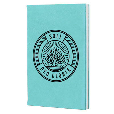 Soli Deo Gloria Badge Leatherette Hardcover Journal