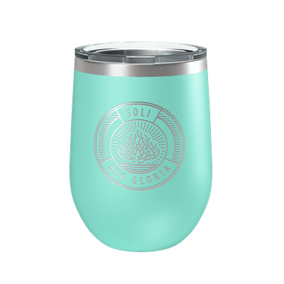 Soli Deo Gloria Badge 12oz Insulated Tumbler
