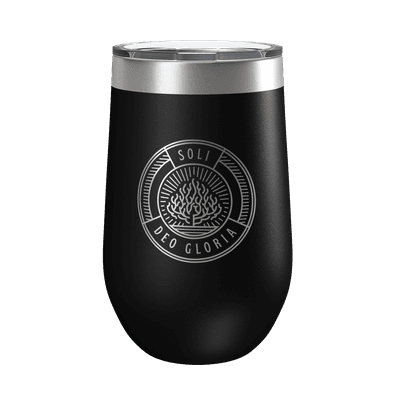 Soli Deo Gloria Badge 16oz Insulated Tumbler