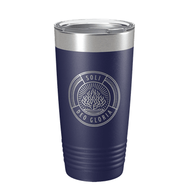 Soli Deo Gloria Badge 20oz Insulated Tumbler