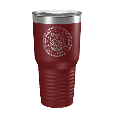 Soli Deo Gloria Badge 30oz Insulated Tumbler