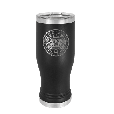 The Five Solas Badge Insulated Pilsner