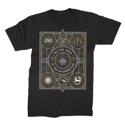 The Five Solas of the Reformation Tee