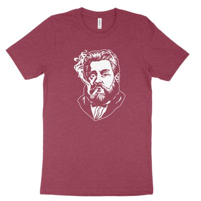 Charles Spurgeon Smoking a Cigar Tee