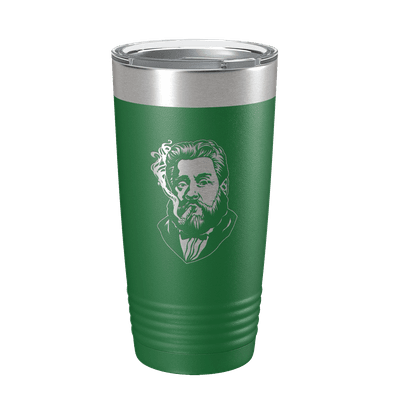 Charles Spurgeon Smoking a Cigar 20oz Insulated Tumbler