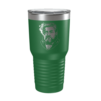 Charles Spurgeon Smoking a Cigar 30oz Insulated Tumbler