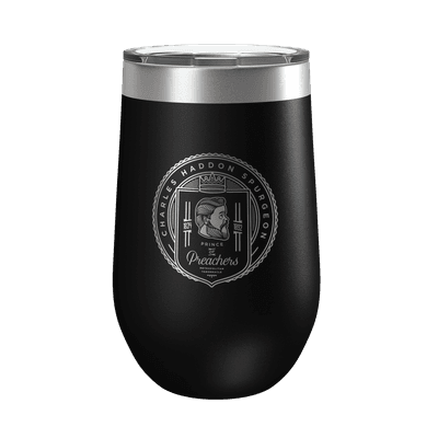 Charles Spurgeon Badge 16oz Insulated Tumbler