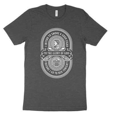 Charles Spurgeon Cigar Quote - T-Shirt