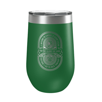 Charles Spurgeon Cigar Quote 16oz Insulated Tumbler