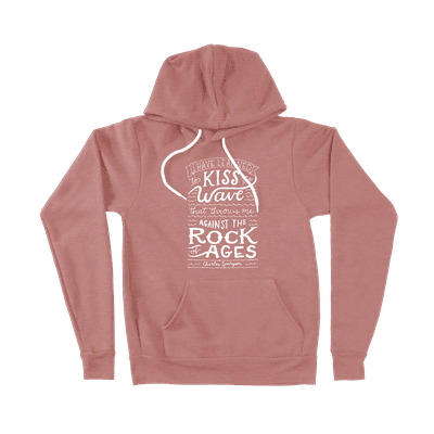 Rock Of Ages - Ladies Hoodie