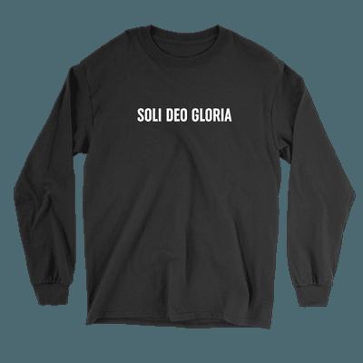 Soli Deo Gloria - Long Sleeve Tee