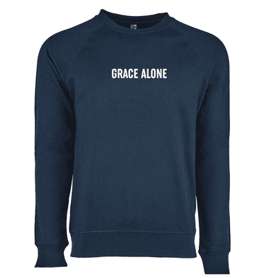 Grace Alone Ladies French Terry Crew