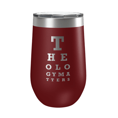 Theology Matters (Eye Chart) 16oz Insulated Tumbler