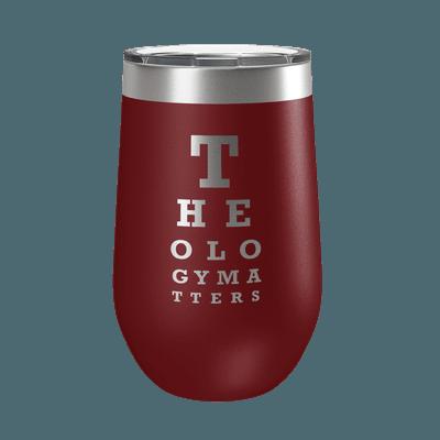 Theology Matters (Eye Chart) 16oz Insulated Tumbler