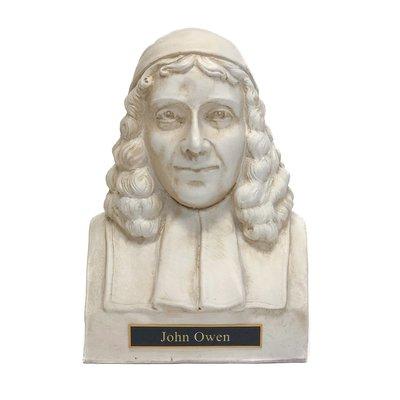 John Owen Statue Bust - White
