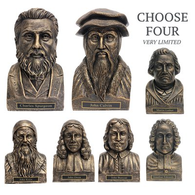 Theologian Statues Bronze - Set of 4