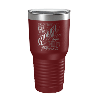 The Chief End of Man 30oz Insulated Tumbler