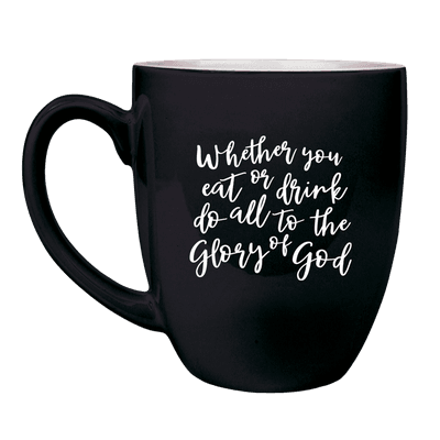 Whether You Eat or Drink Bistro Mug
