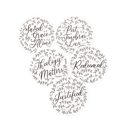 The Floral Theology Sticker Set