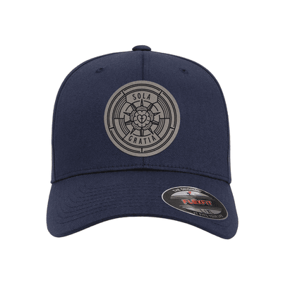 Sola Gratia Badge Fitted Hat