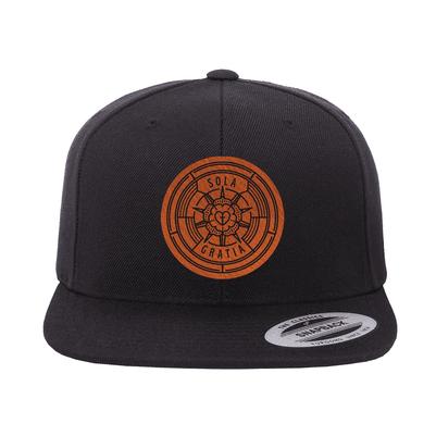 Sola Gratia Badge Snapback Hat