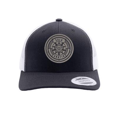 Sola Gratia Badge Trucker Hat