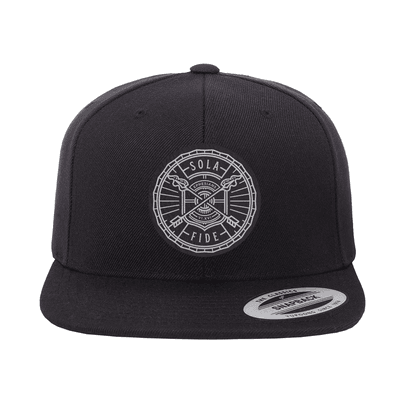 Sola Fide Badge Snapback Hat