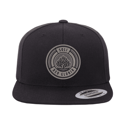 Soli Deo Gloria Badge Snapback Hat