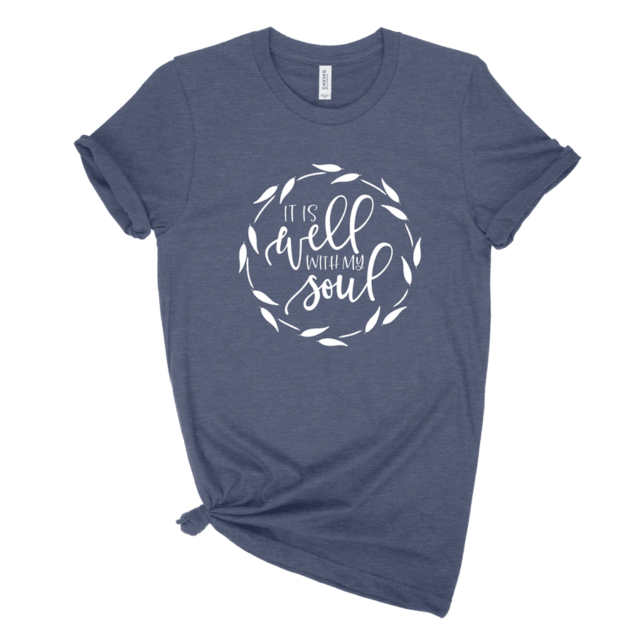 It Is Well With My Soul Ladies Tee