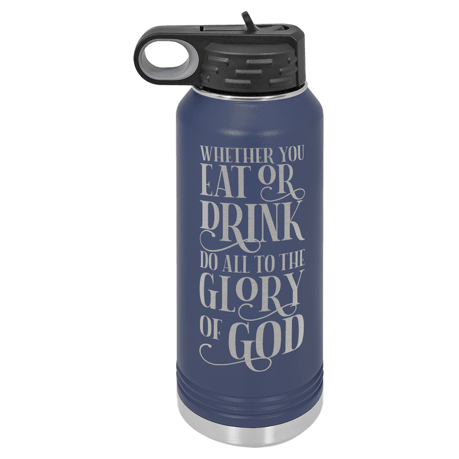 Eat or Drink 32oz Insulated Water Bottle