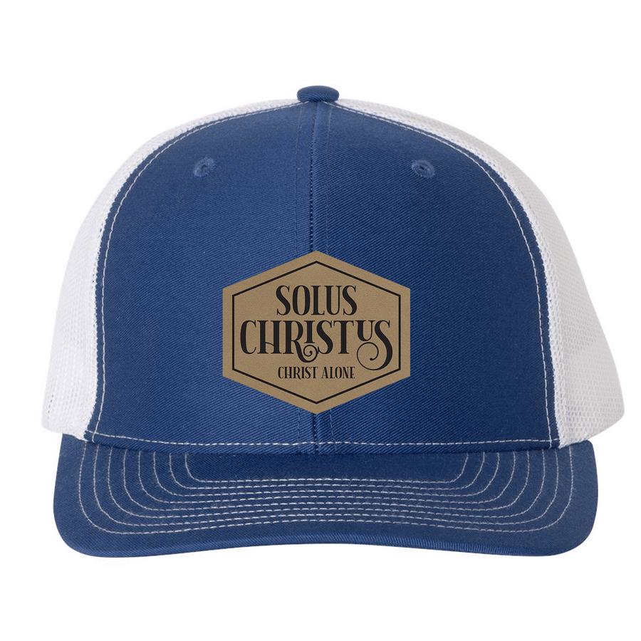 Solus Christus (Patch) Trucker Hat