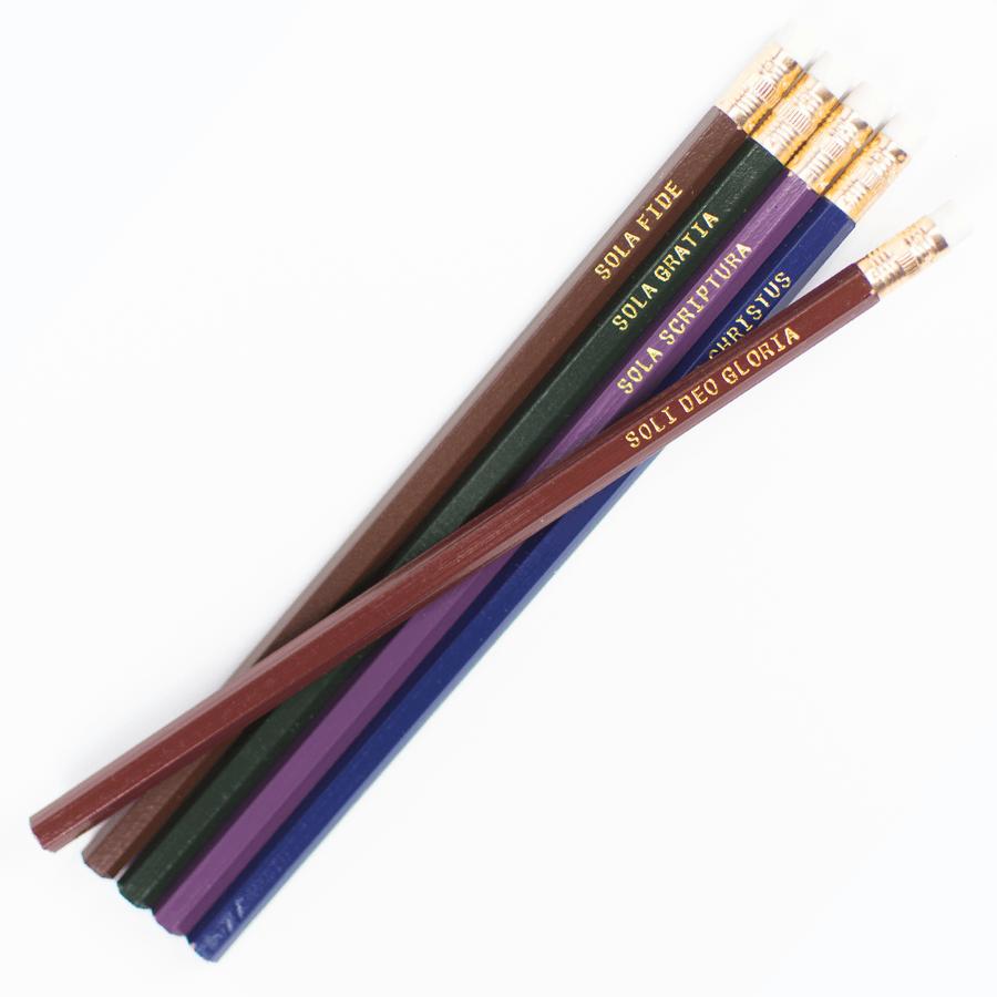 Five Solas Pencil Set #2