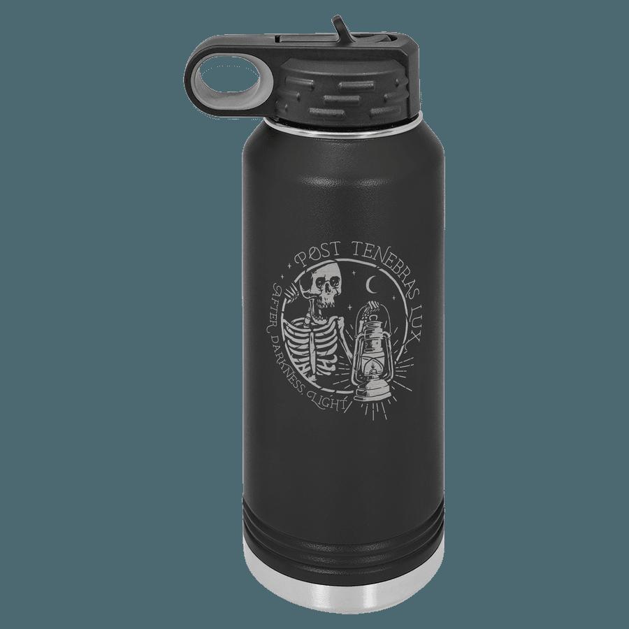 Post Tenebras Lux 32oz Insulated Water Bottle