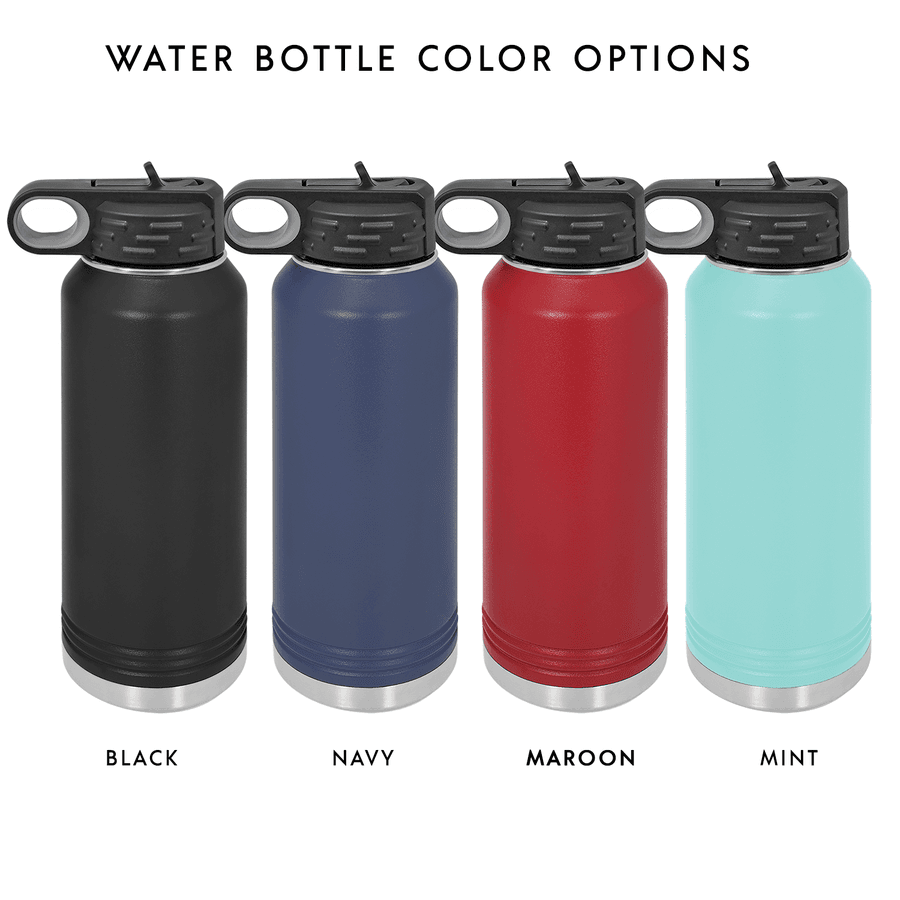 Learned to Kiss The Wave 32oz Insulated Water Bottle #2