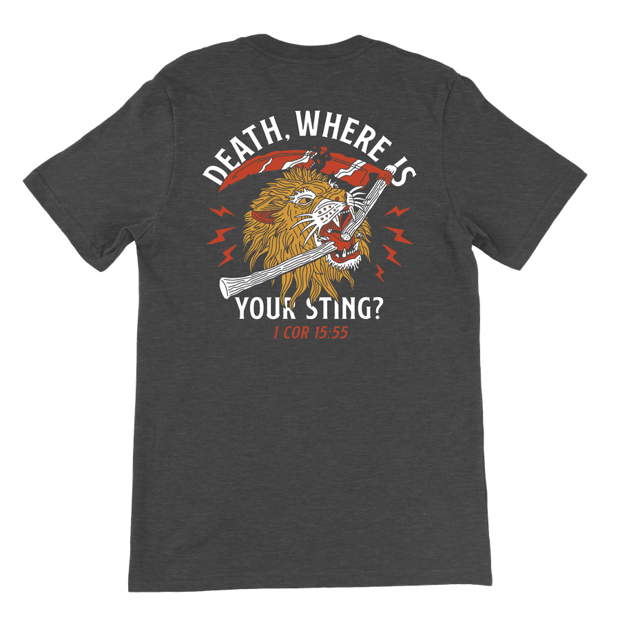 Death Where Is Your Sting Tee