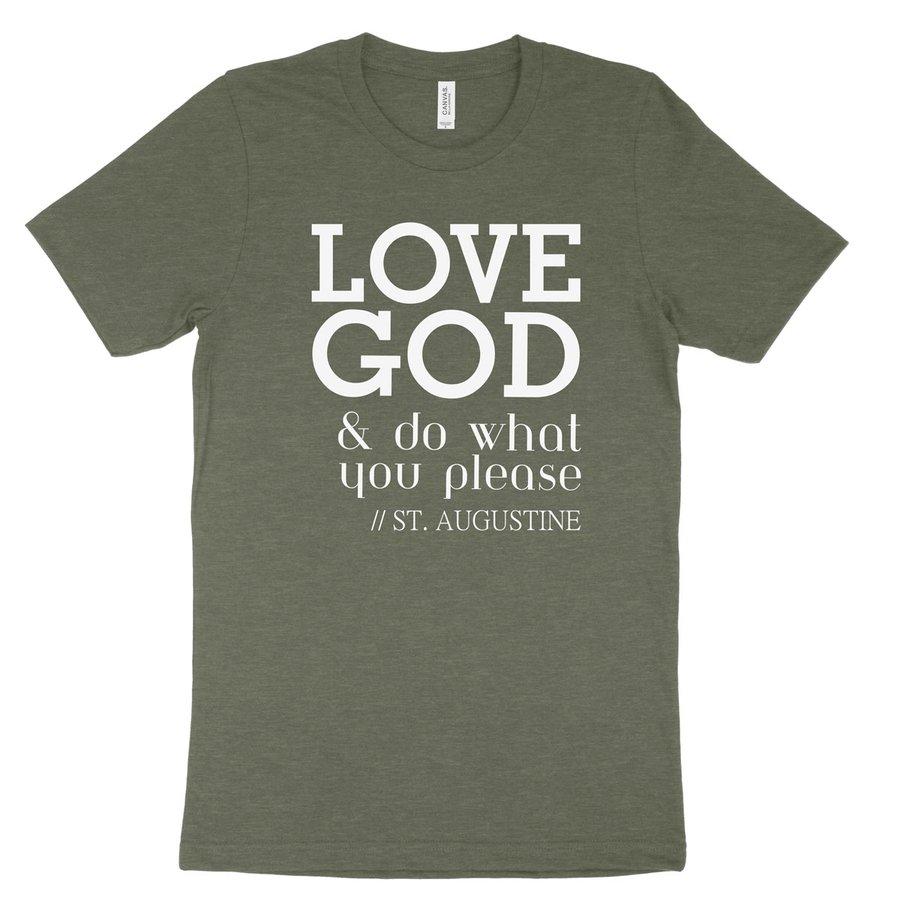 Love God - Augustine Tee