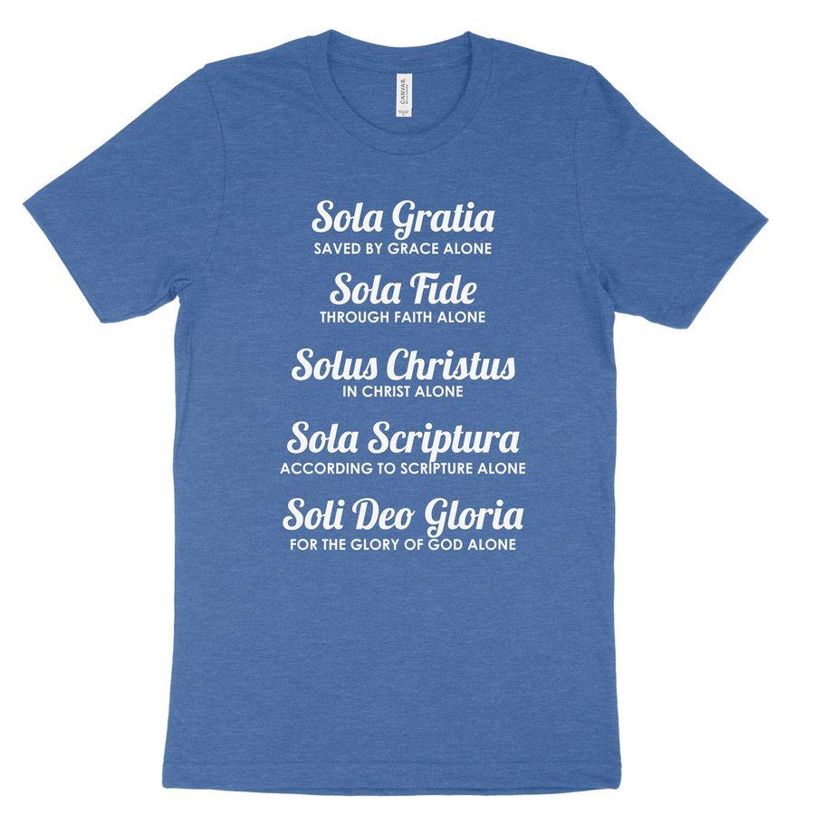 The Five Solas Tee