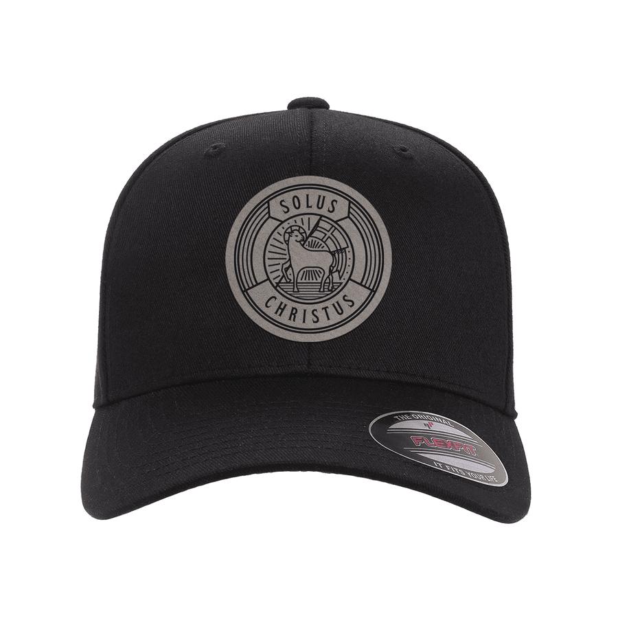 Solus Christus Badge Fitted Hat