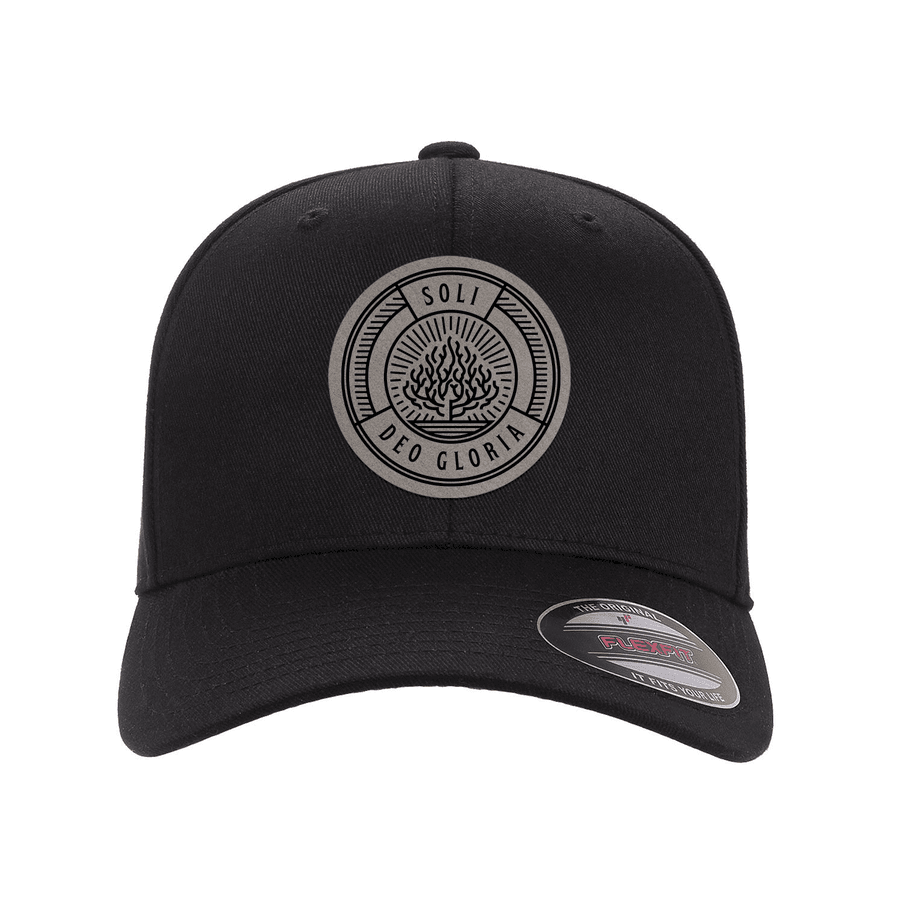 Soli Deo Gloria Badge Fitted Hat