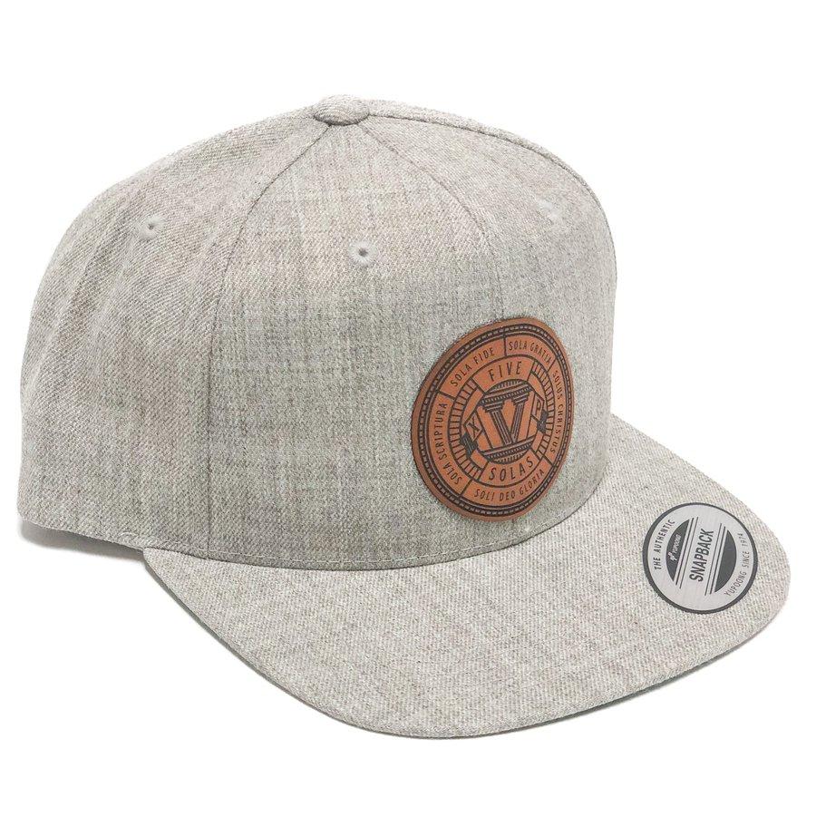 Five Solas Badge Snapback Hat