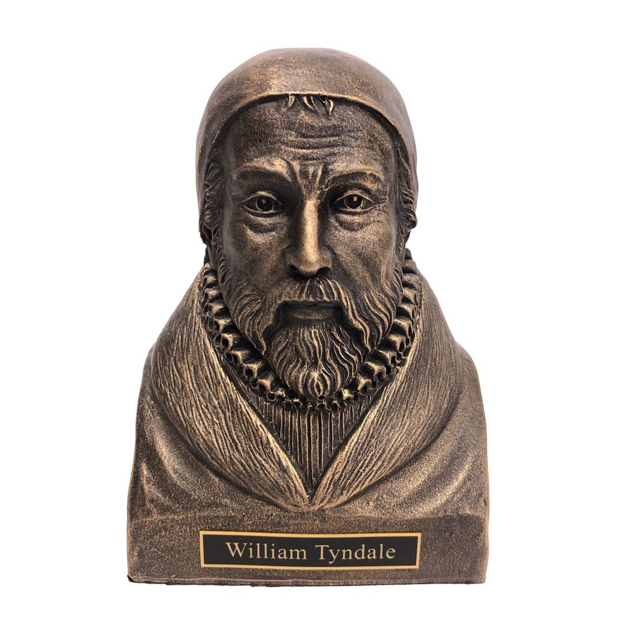 William Tyndale Statue Bust