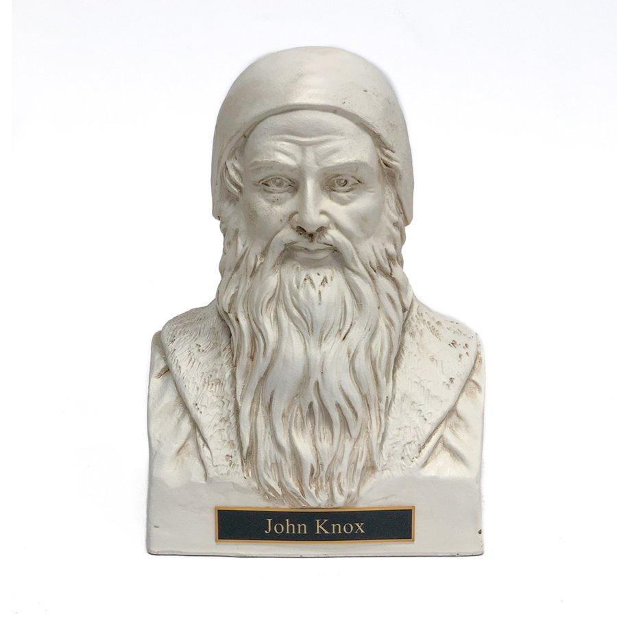 John Knox Statue Bust - White